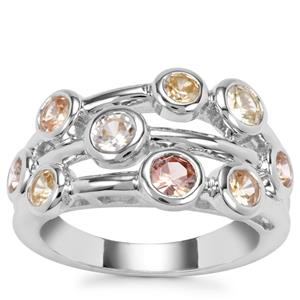 Ceylon Zircon Ring in Sterling Silver 2.51cts