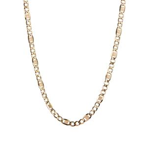 """20"""" 9K Gold Altro Mariner  Necklace 3.89g"""