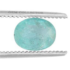 Zambian Emerald GC loose stone  1.08cts