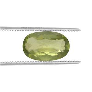Peridot GC loose stone  1.3cts