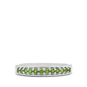 0.34ct Chrome Diopside Sterling Silver Ring
