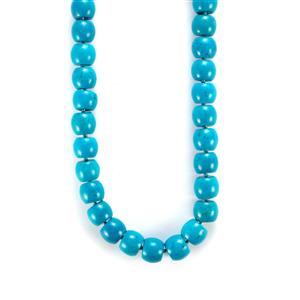 Turquoise Necklace in Sterling Silver 550.70cts