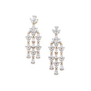3.33ct Diamond 18K Gold Lorique Earrings