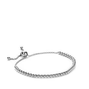 Sterling Silver Altro Slider Bracelet 4.00g