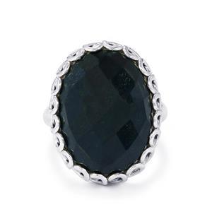 14ct Hawk's Eye Sterling Silver Aryonna Ring