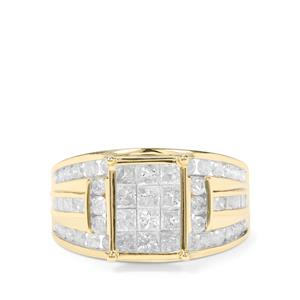 2.20ct Diamond 9K Gold Tomas Rae Ring