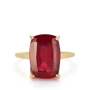 Thai Ruby Ring in 9K Gold 10.80cts (F)