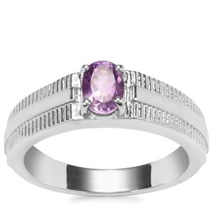 Moroccan Amethyst Ring in Sterling Silver 0.68cts