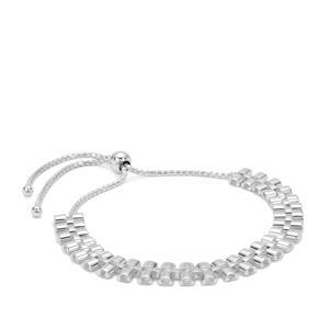 """10"""" Sterling Silver Altro Slider Bracelet 8.25g"""