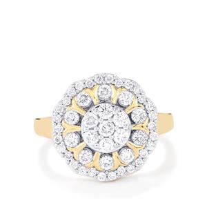 1ct Diamond 18K Gold Tomas Rae Ring
