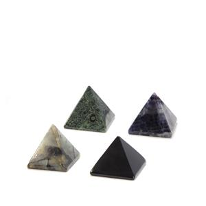 Inspirations Collection - Gemstone Pyramid Paperweight