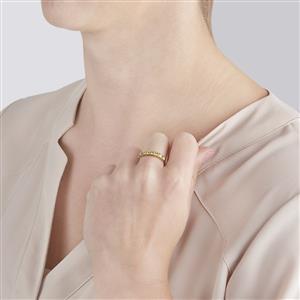 Ambilobe Sphene Ring in 10k Gold 0.75cts