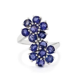 2.97ct Bengal Iolite Sterling Silver Ring
