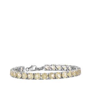 19.15ct Bahia Rutilite Sterling Silver Bracelet