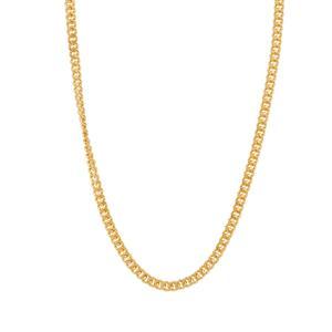 """24"""" Midas Classico Slider Diamond Cut Curb Chain 1.77g"""