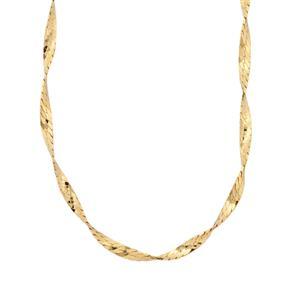 "18"" Midas Dettaglio Twisted Herringbone Chain 3.50g"