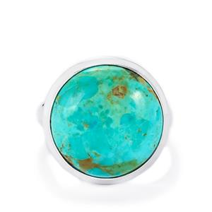 11.57ct Cochise Turquoise Sterling Silver Aryonna Ring