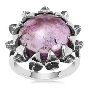 Kenyan Amethyst Ring in Sterling Silver 8.33cts