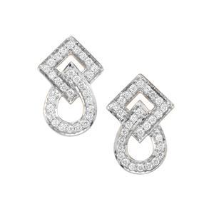 Argyle Diamond Earrings in 10K Gold 0.51ct
