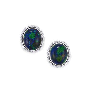 9.27ct Azure Malachite Sterling Silver Aryonna Earrings