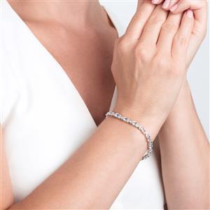 Pedra Azul Aquamarine Bracelet in Sterling Silver 6.75cts