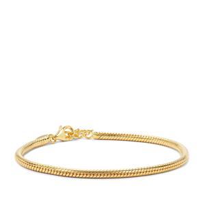 "7"" Midas Altro Snake Bracelet 11.39g"