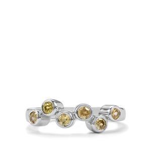 0.71ct Ambilobe Sphene Sterling Silver Ring