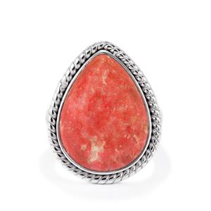15ct Thulite Sterling Silver Aryonna Ring