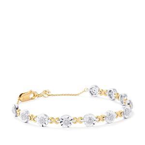 1/2ct Diamond Midas Bracelet