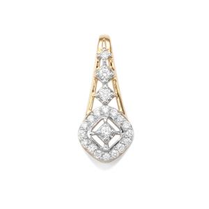 Argyle Diamond Pendant in 10K Gold 0.28ct