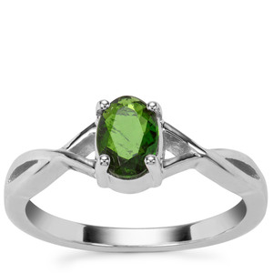 Chrome Diopside Ring in Sterling Silver 0.73ct