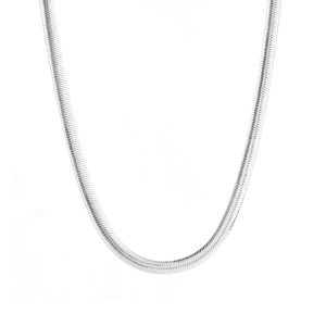 "18"" Sterling Silver Tempo Flat Snake Chain 8.00g"