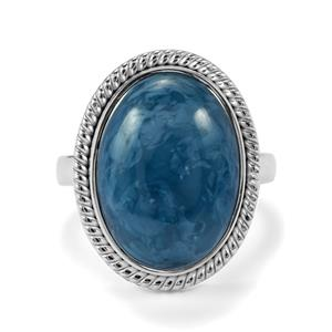 Bengal Blue Opal Ring in Sterling Silver 8.79cts