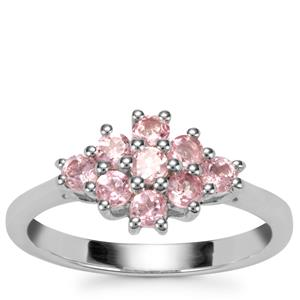 Kaffe Tourmaline Ring in Sterling Silver 0.62ct