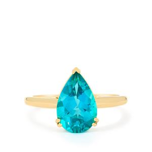 Batalha Topaz Ring in 9K Gold 3.39cts