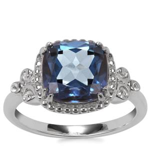 Hope Topaz Ring with White Topaz in Sterling Silver 3.84cts