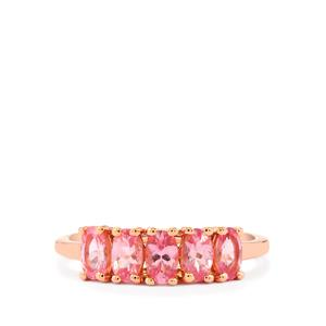 Mozambique Pink Spinel Ring in 9K Rose Gold 1.25cts