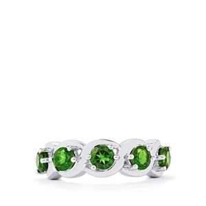 2.08ct Chrome Diopside Sterling Silver Ring