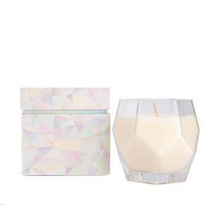 Diamond Candle, Orris Fragrance with Diamond ATGW 1ct