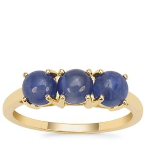 Burmese Blue Sapphire Ring in 9K Gold 2.20cts