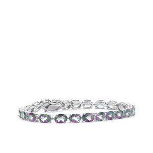 Mystic Green Topaz Bracelet in Sterling Silver 23.95cts