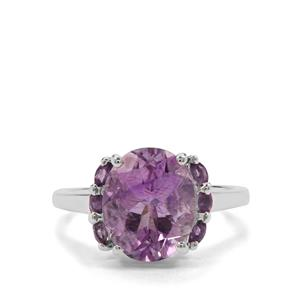 4.41ct Moroccan Amethyst Sterling Silver Ring