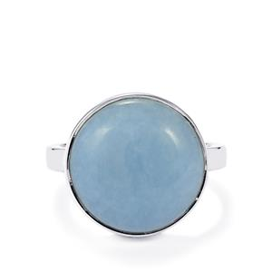 9.71ct Angelite Sterling Silver Aryonna Ring