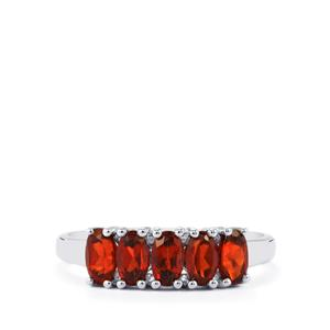 1.56ct Nampula Garnet Sterling Silver Ring