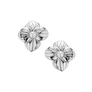 Kaori Cultured Pearl Sterling Silver Earrings (3mm)