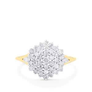 3/4ct Diamond 10K Gold Ring
