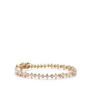 Canadian Diamond Bracelet in 9K Gold 1.50cts