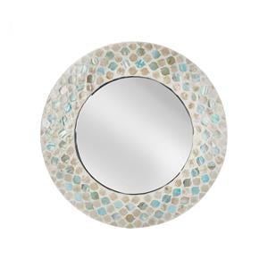 Santorini Mother of Pearl Mirror