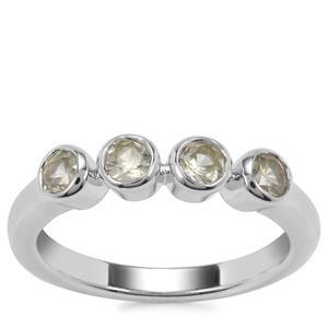 Ceylon Zircon Ring in Sterling Silver 1.25cts