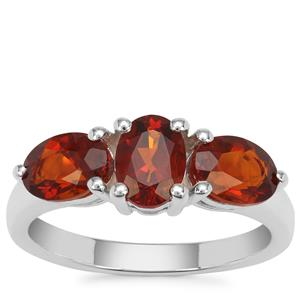 Madeira Citrine Ring in Sterling Silver 2.09cts